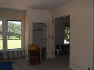 Artist studio before remodel Interior design